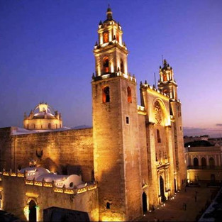 Historic Cathedral, Merida Centro, Yucatan