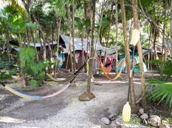 Tulum beach camping