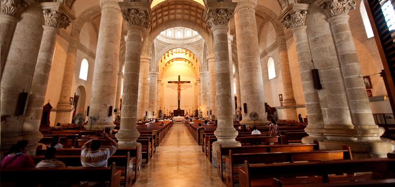 Catedral Merida, Yucatan