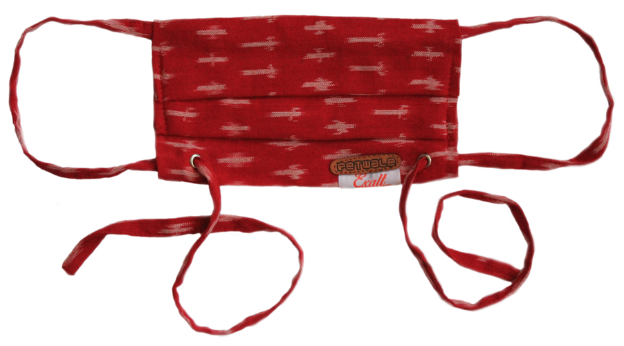 Red Ikat Mask.png
