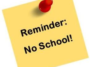 No School - January 18th