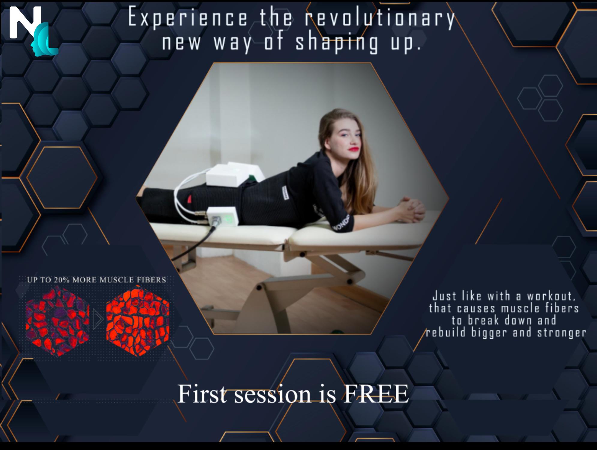 FREE 1 x WONDER session