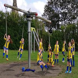 Cramlington Girls Fun Football Hour Post