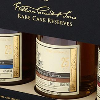 Branding & packaging for super premium whiskey