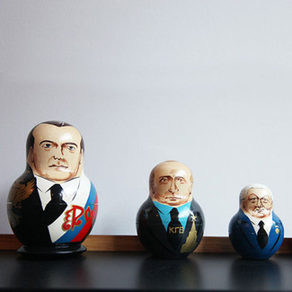 The Russian Presidents / ruling & ties