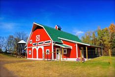 Preschool barn structure