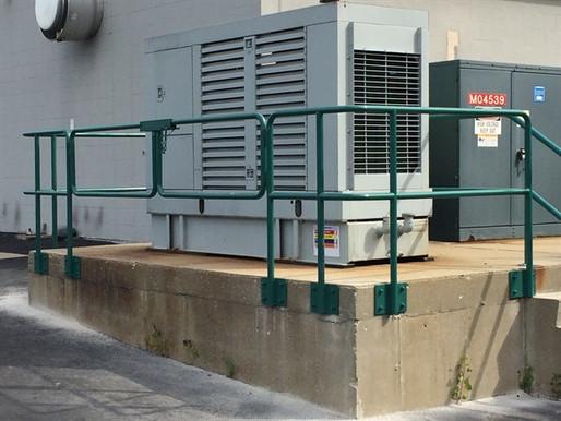 commercial railing - custom fabrication2