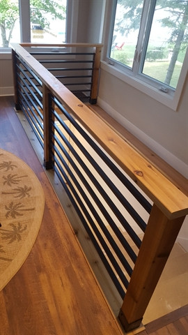 residential railing custom fabrication.j