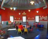 Interior of Preschool Barn!