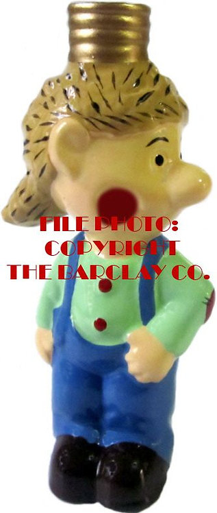 "#BC-027 - Snuffy Smith Comic Character ""Milk Glass"" Bulb Cover - Jug Haid"
