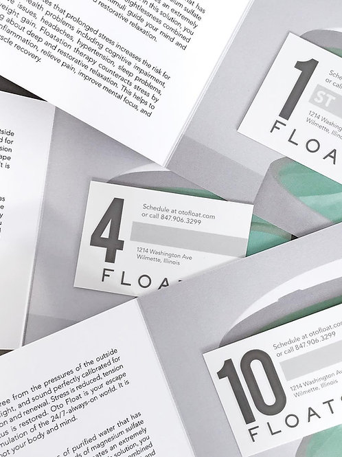 NEW GUEST 3-FLOAT INTRO SERIES GIFT CARD