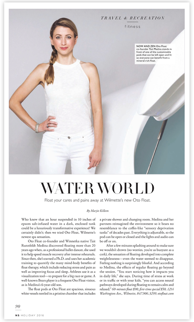 WATER WORLD (from NS Magazine)
