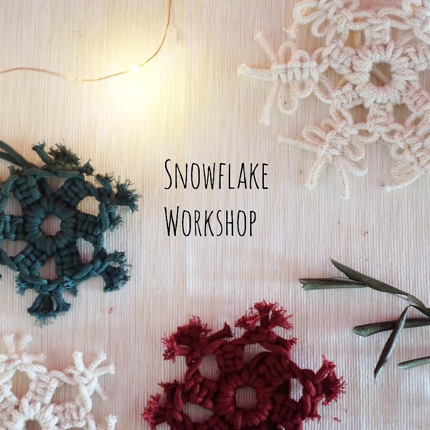 Macrame Snowflake Workshop