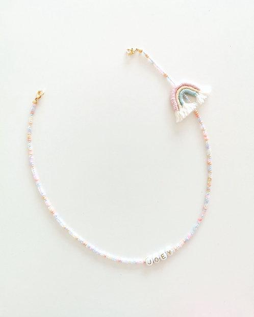 Euniqyou x Knoette Cotton Rainbow Mask Chain