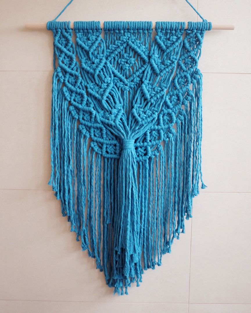 Teal Wall Hanging