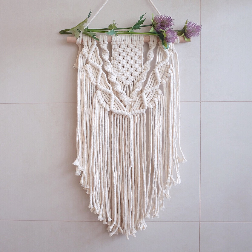 Private Macrame Wall Hanging Workshop