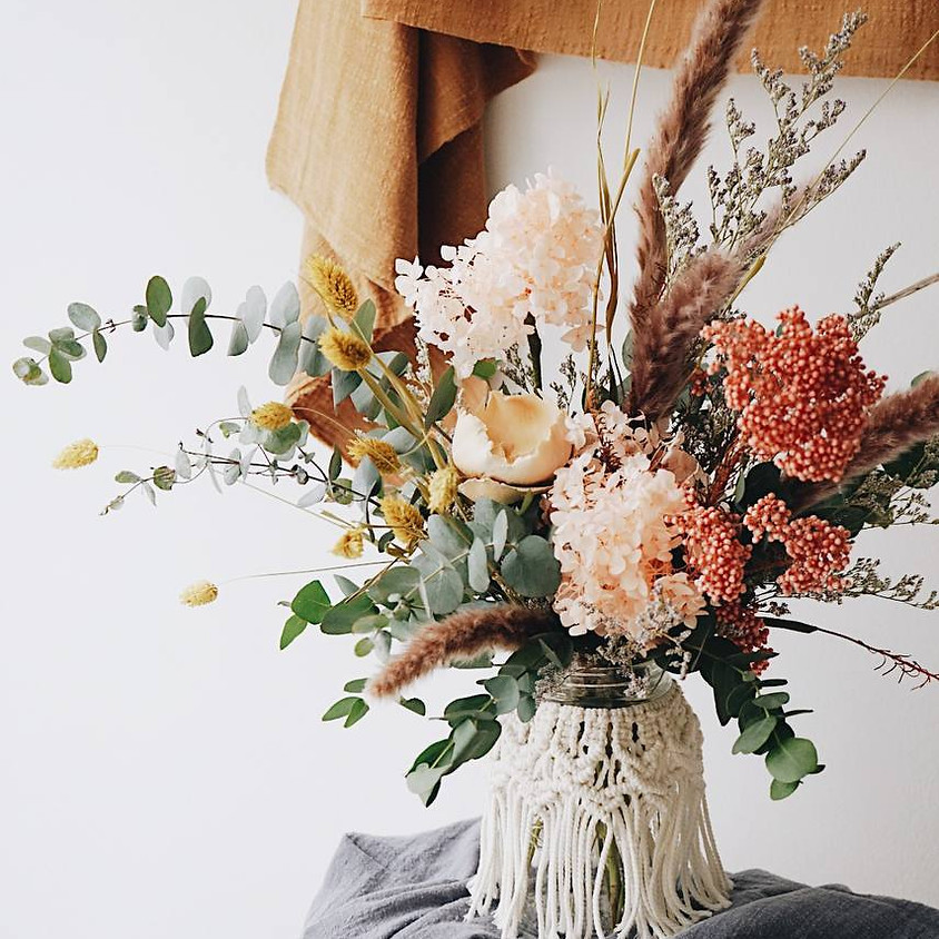 Knoette X The Bloomish Eden Mother's Day Workshop with Mom - Knots & Flowers