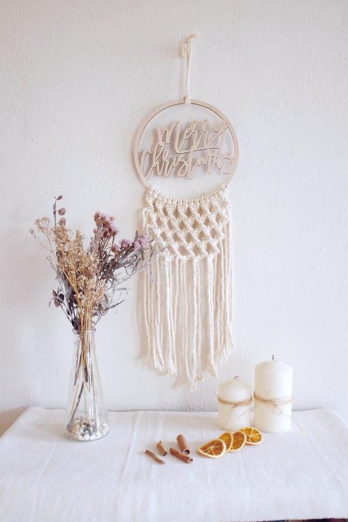 Urbanlil X Knoette Custom Plaque Spiral Wreath Hanging