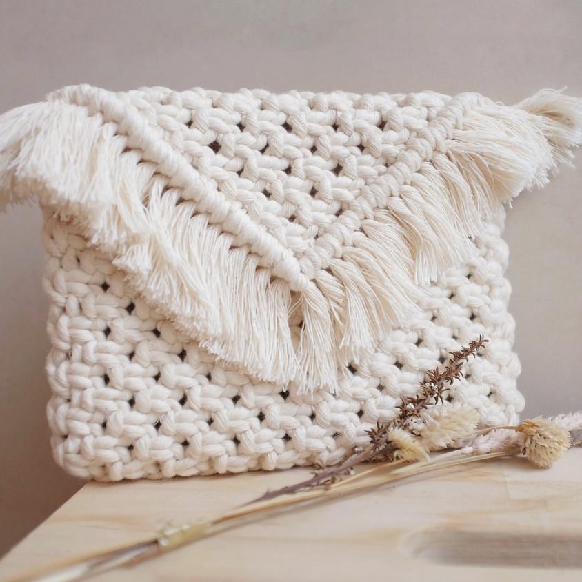 Intermediate Macrame Clutch Bag Workshop