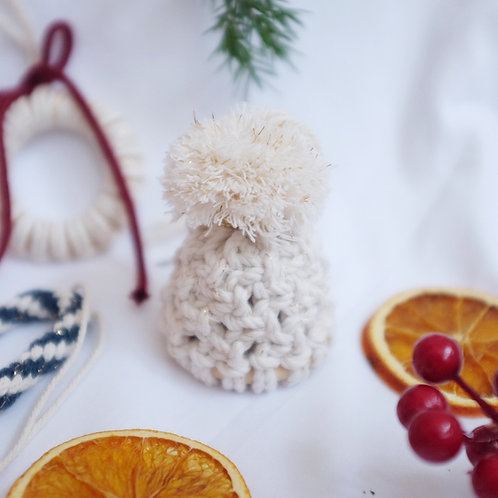 Beanie Ornament DIY Kit