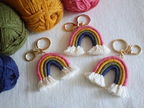 Rainbow Keyring/ Bag Charm