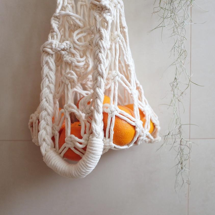 Intermediate Macrame Tote Bag Workshop