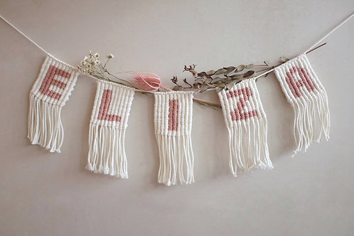 Personalize Name/ Word Bunting