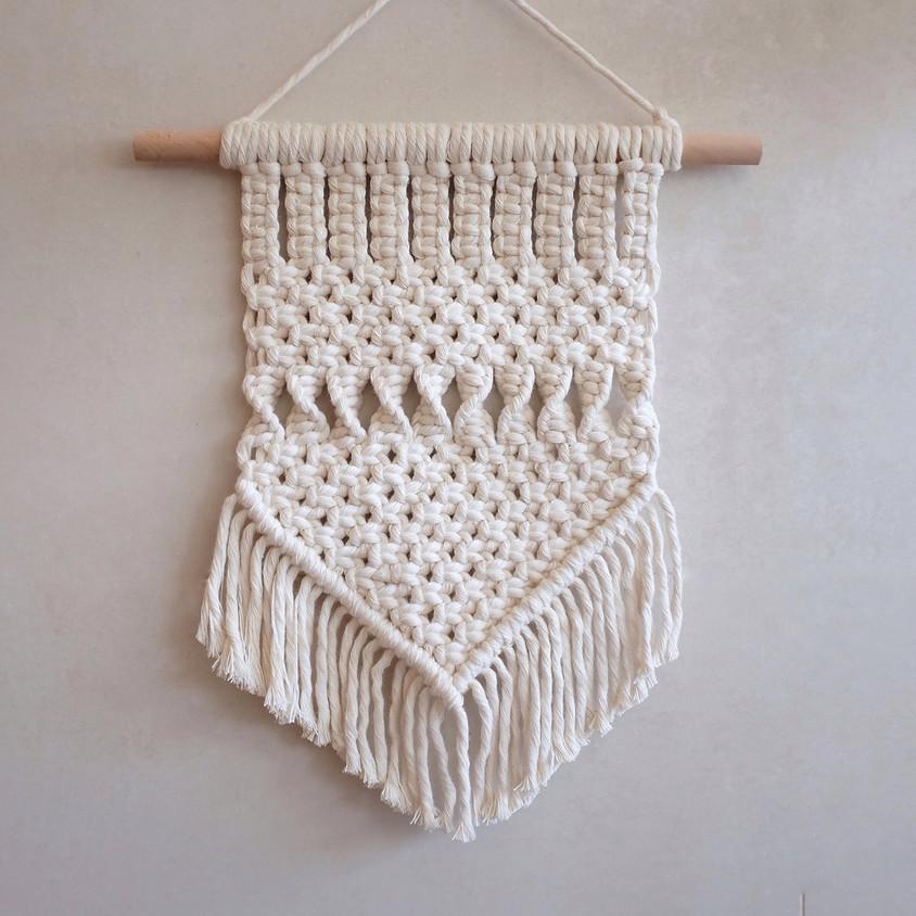 Macrame Basic Wall Hanging Workshop