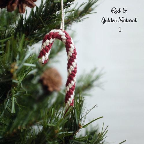 Candy Cane Stick Ornament