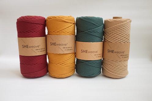 SHEweave - 3mm Braided Rope