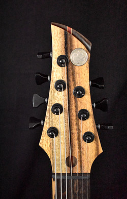 Djudge 7-string headstock