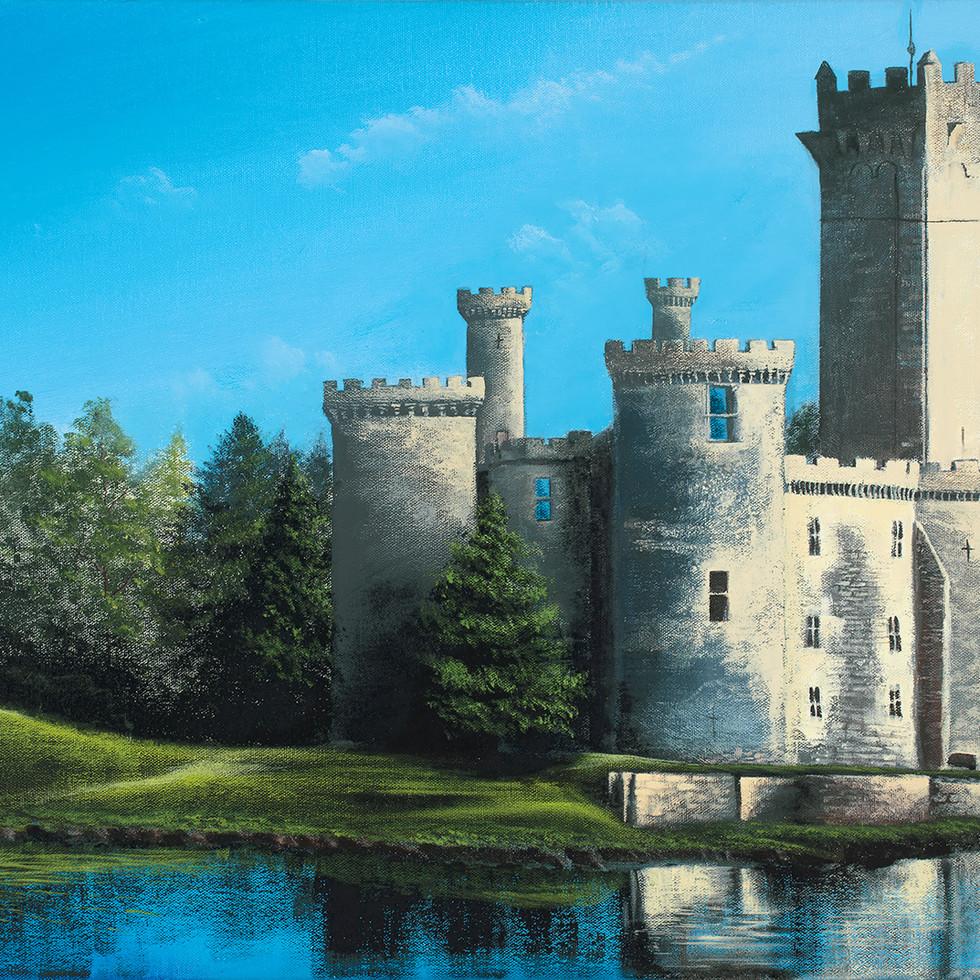 "MontBrun Castle 18x24"" Acrylic on Canvas"