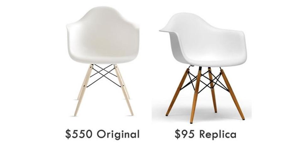 The Value of Design - Real VS Replica