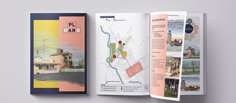 PLAN RAND Recognised with Good Design Award Gold Accolade