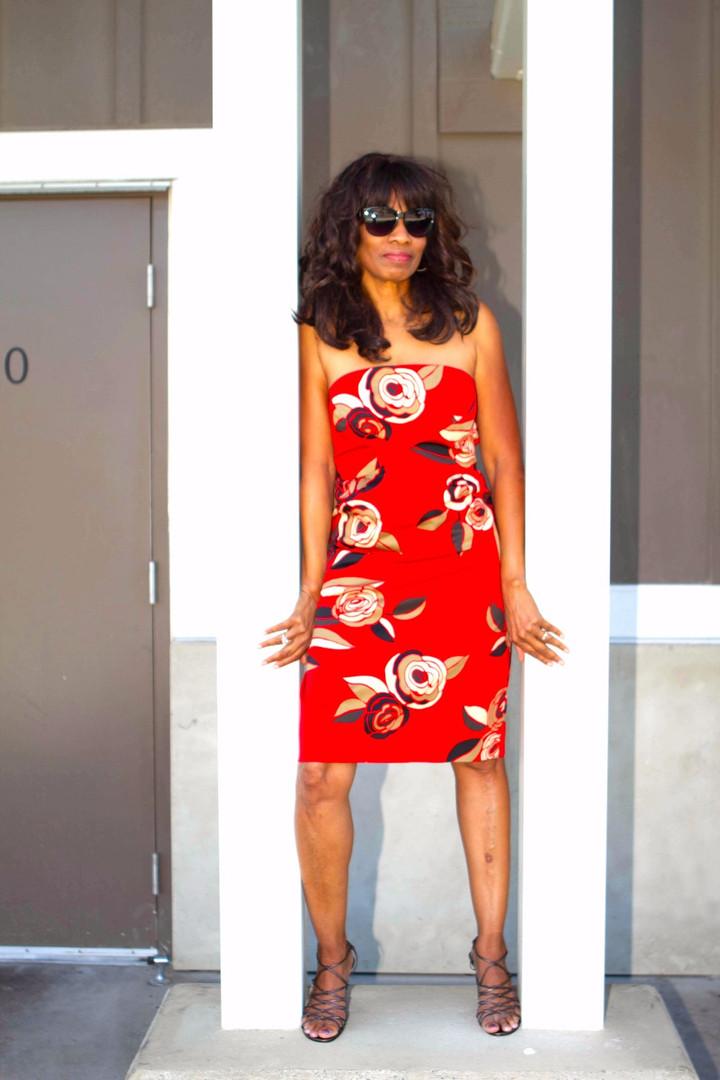 Bold Endeavor Red Dress