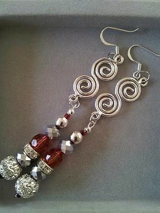 Fire and Ice Dangling Dazzlers