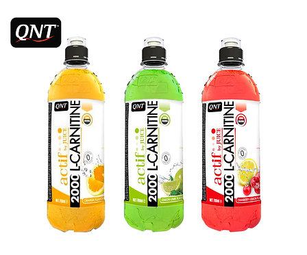 Упаковка QNT. L-Carnitine 2000. ПЭТ. 700 мл. (Апельсин,Клюква/Лимон,Лимон/Лайм)