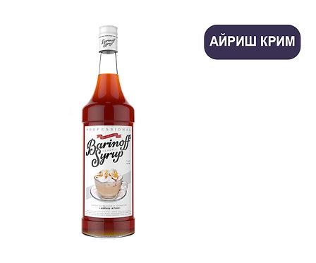Сироп Barinoff. АЙРИШ КРИМ. 1 литр. Продаём ПОШТУЧНО