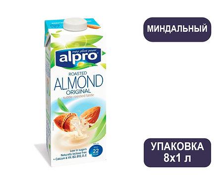 Коробка ALPRO Миндаль. Напиток ореховый. Тетра пак. 1 литр