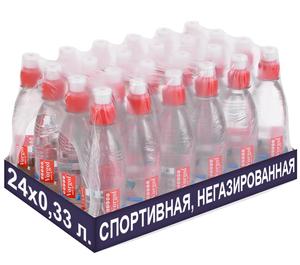 Упаковка спортивной негазированной воды Vorgol 0,33 л