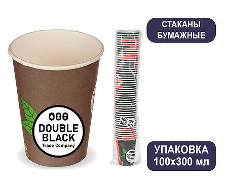 Упаковка стаканов 300 мл. Бумажные