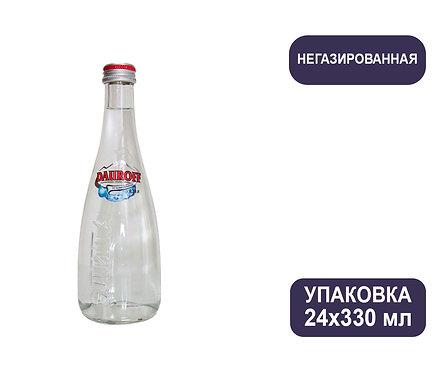 Упаковка DAUROFF. Негазированная. Природная питьевая столовая. Стекло. 330 мл