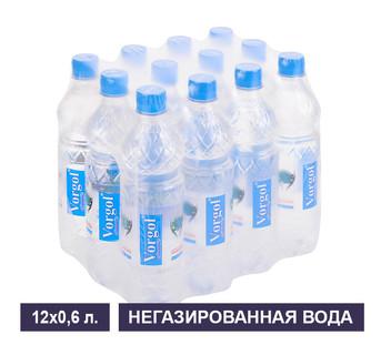 Упаковка негазированной воды Vorgol 0,6 л