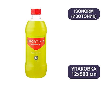 Упаковка SPORTINIA ISONORM (Изотоник). ПЭТ. 500 мл