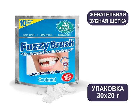 Жевательная зубная щетка Fuzzy Brush. Поштучно