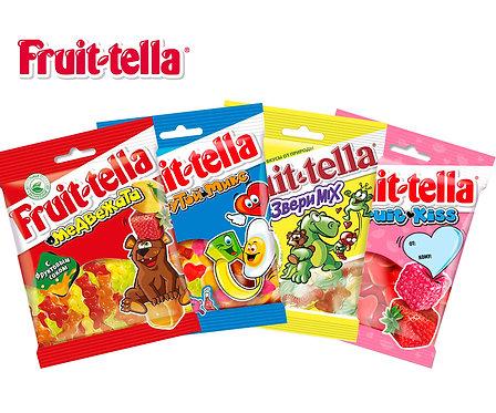 Коробка Fruit-tela. Жевательный мармелад. 70 г.