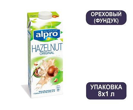 Коробка ALPRO Фундук. Напиток ореховый. Тетра пак. 1 литр