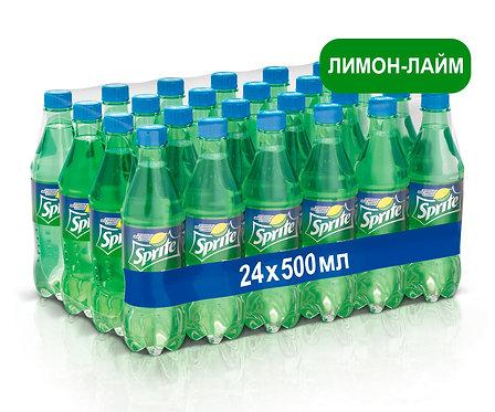Упаковка Sprite. ПЭТ. 500 мл
