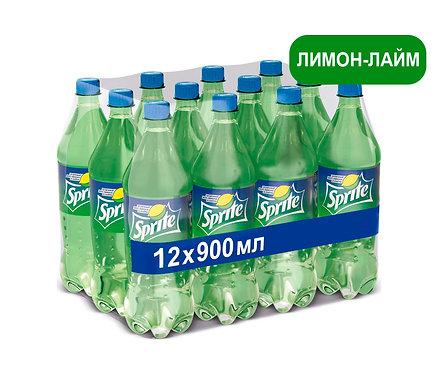 Упаковка Sprite. ПЭТ. 900 мл