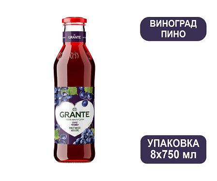 Упаковка Сок Grante Виноград Пино. Стекло. 750 мл